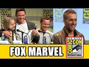 Fox MARVEL COMIC CON Panels - Deadpool, X-Men Apocalypse, Fantastic Four