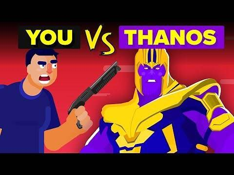 YOU vs THANOS - How Can You Defeat And Survive Him? (Avengers Endgame Movie)