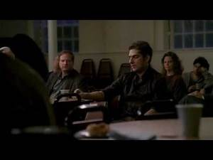 The Sopranos - Christopher At A Alcoholics Anonymous Meeting