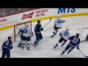 San Jose Sharks vs Winnipeg Jets - March 6, 2017   Game Highlights   NHL 2016/17
