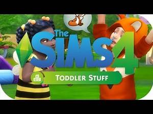 CAS AND GAMEPLAY!   THE SIMS 4 // TODDLER STUFF