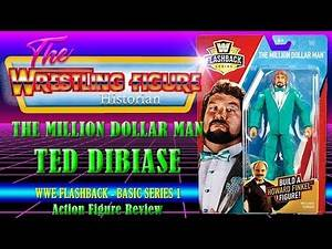 """""""The Million Dollar Man"""" Ted Dibiase Figure Review - WWE Flashback Series"""