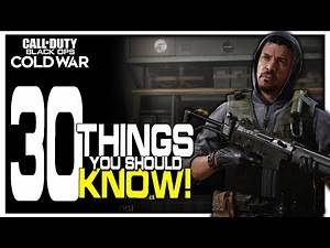 30 Things you Should Know about Black Ops Cold War Multiplayer (FAQ)