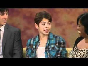 Selena Gomez, David Henrie and Jake T. Austin's Interview on The View August 5th