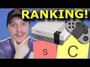 RANKING Every Game Console from BEST to WORST!