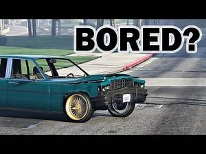 Things I Do When Bored In GTA Online