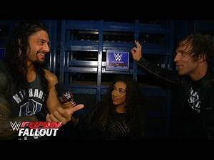 Roman and Dean spill the beans: Raw Fallout, Sept. 14, 2015
