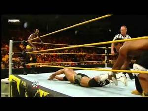 WWE NXT 20/9/11 Titus O'Neil and Percy Watson vs JTG and Darren Young (HQ)