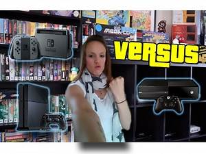 Nintendo Switch Vs PS4 Vs Xbox One - SPECS COMPARISON! | TheGebs24