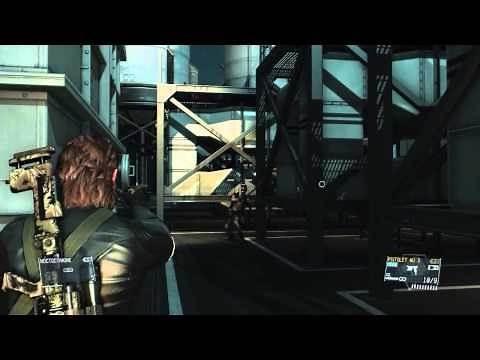 Metal Gear Solid V : The Phantom Pain - PC Mods - Big Boss Ground Zeroes Skin