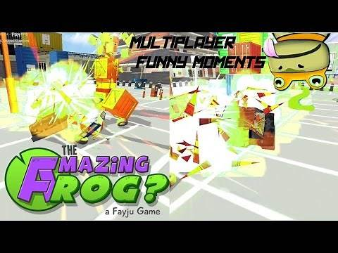 (The) Amazing Frog? || Multiplayer / Co-Op Gameplay PC [Funny Moments / Swindon Escape]