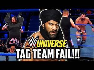 WWE UNIVERSE EVENTS & PLAY MODE TAG TEAM FAIL!!!