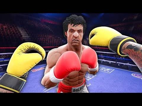 I'm A Maniac Boxer That Crushed Rocky Balboa's Nuts - Creed Rise To Glory VR (Rocky Legends DLC))