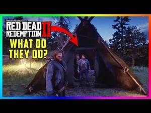 What Happens If Arthur Spies On Sean & Karen Inside Of Their Tent In Red Dead Redemption 2? (RDR2)