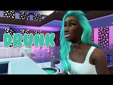 DRUNK MODS 🍺 | Wolfdude's Alcohol Mod | The Sims 4 Mods