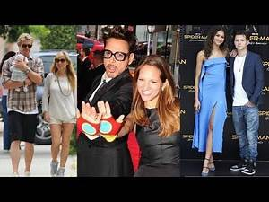 The Real life couples in Marvel 2019 |infinity war|Top Famous