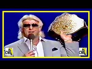 Ric Flair Promo (Championship Wrestling From Florida) (1987)
