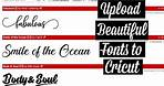HOW TO UPLOAD FONTS FROM DAFONT TO CRICUT   UNZIP AND INSTALL FILES IN WINDOWS
