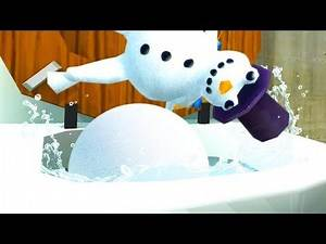 NEW SNOWMAN FLUSHES GIANT SNOWBALL DOWN THE MAGIC TOILET - Amazing Frog Part 167 | Pungence