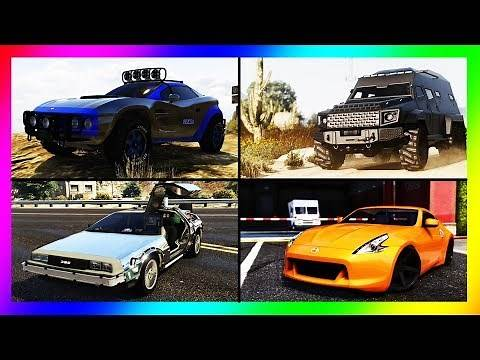 GTA 5 - TOP 10 BEST VEHICLES (Multi-Use Vehicles) March 2020