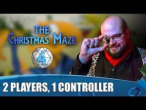 The Christmas Maze Episode 4 - 2 Players, 1 Controller, 8 Tentacles