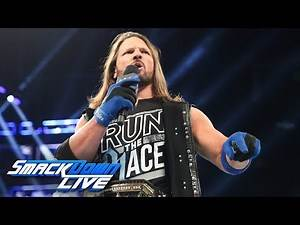 AJ Styles returns to respond to Samoa Joe: SmackDown LIVE, Aug. 7, 2018