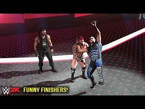Top 10 Funny Finishers Swapping! Part 4 | WWE 2K