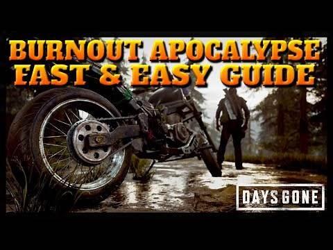 Days Gone Burnout Apocalypse Trophy Guide (Fast & Easy Method)