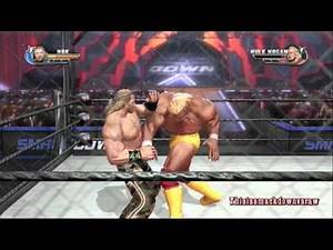 WWE All Stars Undertaker's Path of Champions #009 Shawn Michaels vs. Hulk Hogan (Steel Cage)