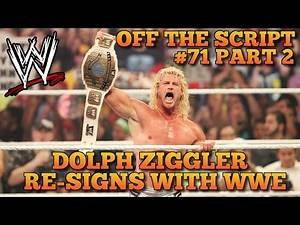 Dolph Ziggler Signs NEW Multi-Year Deal With WWE | WWE Off The Script #71 Part 2