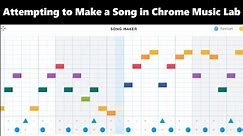 Attempting to Make a Video Game Theme with Chrome Music Lab in One Night || Shady Cicada
