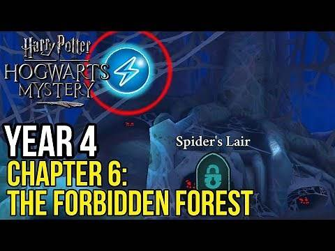 Harry Potter: Hogwarts Mystery | Year 4 - Chapter 6: EXPLORING THE FORBIDDEN FOREST