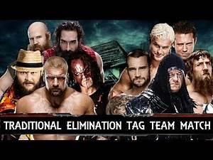 WWE Survivor Series 2013 Match Cards