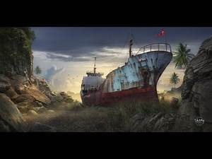Ghost Ship - Speed Photoshop by Dheny Patungka