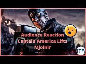 Captain America Lifts Mjolnir Scene | Endgame Audience Reaction | Captain Vs Thanos Full Fight Scene
