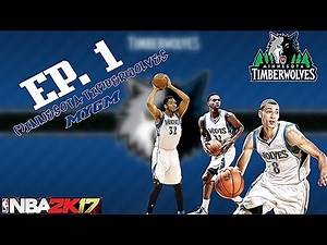 The INTRO/ Creation of a DYNASTY! -Minnesota Timberwolves NBA 2k17 MYGM ep. 1