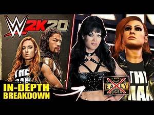 WWE 2K20 In-Depth BreakDown: Cover Trailer Analysis, NO Early Access, All Editions, Chyna & More!