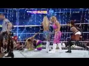 AJ Lee retained divas championship on wwe wrestlemania 30 Segment 4