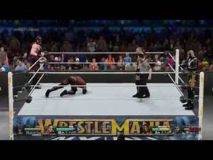 Kane and RVD vs Goldust and Booker T WWE 2K15
