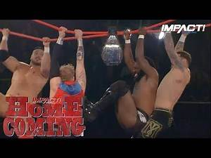 Ultimate X Kicks Off Homecoming IN STYLE! | IMPACT Wrestling Homecoming Highlights