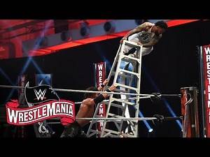 Jimmy Uso risks it all for the SmackDown Tag Team Titles: WrestleMania 36 (WWE Network Exclusive)