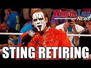 Sting Retiring! Another Top WWE Star Injured! - WrestleTalk News