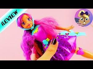 New BARBIE Video Game Hero   Cool Doll with Lightshow   Rollerskates Barbie
