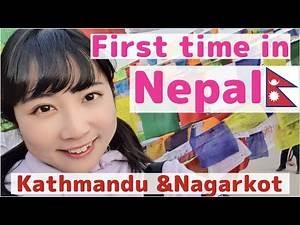 Japanese visits Nepal for the 1st time! Kathmandu in New year chaos/ Nagarkot/Boudha Stupa