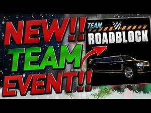 NEW TEAM ROADBLOCK EVENT! EVERYTHING YOU NEED TO KNOW! WWE SUPERCARD SEASON 6