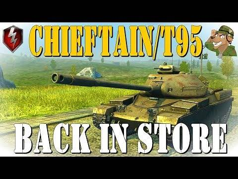 Chieftain/T95 Review | In Store #4 | Wot Blitz [2019] 4K