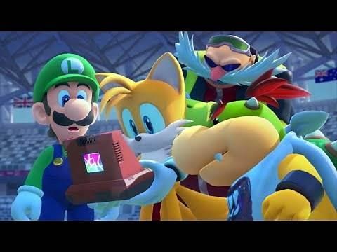 Mario & Sonic at the Olympic Games Tokyo 2020 - Full Game Walkthrough
