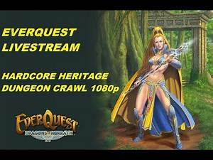 LET'S PLAY EVERQUEST - LEVEL 85 group vs Hardcore Heritage Cazic Thule (1080p)