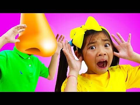 Emma and Andrew Learn About Lying| Good vs Bad Behavior for Kids | Funny Big Nose