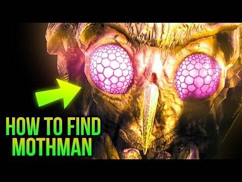 Fallout 76 Secrets - How To Find MOTHMAN!